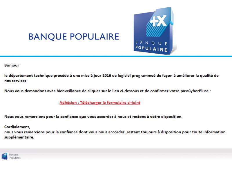 Fber clissse broeedd t arnaque site annonce - Banque populaire cyber ...